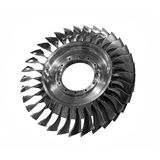 Big turbine wheel Stock Photography