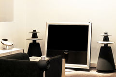 Big TV royalty free stock images