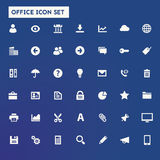 Big UI, UX and Office icon set Royalty Free Stock Images