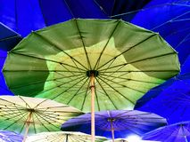 The big umbrella royalty free stock images