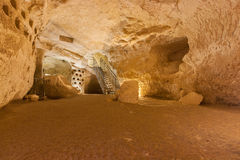 Big underground cave, Beit Govrin, Israel Stock Photos