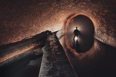 Underground system under city Stock Images