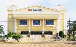 Free Big Universal Church On Downtown Called Igreja Universal Do Rein Royalty Free Stock Photos - 110979878