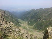 Fagaras mountains. A Big valley in Fagaras Mountains, România Royalty Free Stock Image