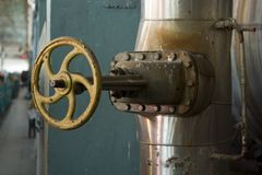 Big valve Royalty Free Stock Images
