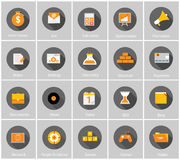 Big Vector Collection of Flat Business and Finance Royalty Free Stock Photography