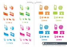 BIG Vector Icons Set Stock Photography