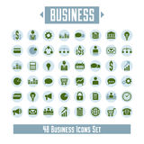 Big vector set of 48 business icons and design elements for your. Project vector illustration