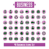 Big vector set of 48 business icons and design elements for your. Project royalty free illustration