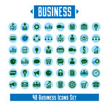 Big vector set of 48 business icons and design elements for your. Project Stock Photography