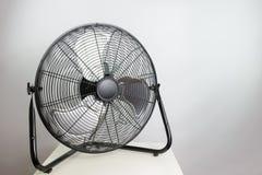 Big ventilation fan on white background Stock Photos