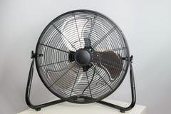 Big ventilation fan on white background Stock Image
