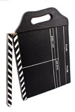 Big Vintage Movie Clapboard Stock Images