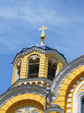 Big Vladimir Cathedral in Kiev in Ukraine Royalty Free Stock Images