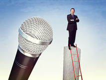 Big voice Stock Photography
