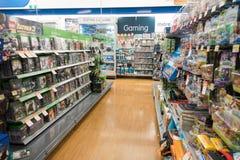 Big W, Playstation games, Australia Stock Images