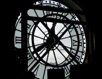 Big wall clock Royalty Free Stock Images