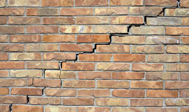 Big wall crack Royalty Free Stock Photo