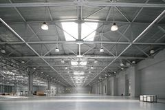 Big warehouse Royalty Free Stock Image