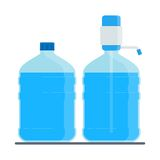 Big water bottle Royalty Free Stock Photo