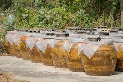 Big water jar Stock Photography