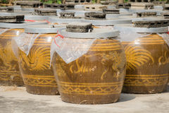 Big water jar Stock Image