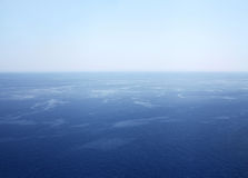 Big water, sea, ocean. View from a great height Stock Photo