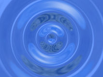 Big waterdrop Stock Image
