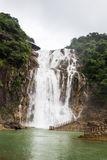 Big Waterfall in China National Park. Stock Images