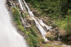 Big waterfall at Doi Inthanon Stock Image