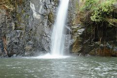 Big waterfall in forest at Jetkod-Pongkonsao travel location on Thailand stock photo