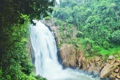 The big waterfall Royalty Free Stock Photography