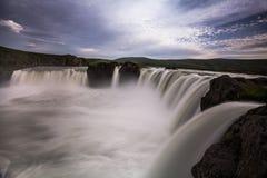 Big waterfall Royalty Free Stock Photography