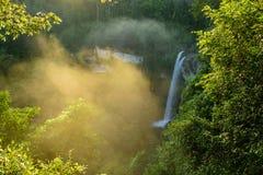 Big waterfall stock image
