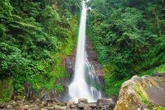 Big waterfall to Bali Stock Photography