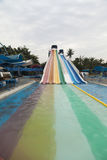 Big waterslides Royalty Free Stock Photos
