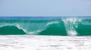 Big wave. Big blue wave in ocean Stock Images