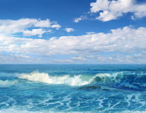 Big wave Royalty Free Stock Photo