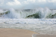 Big wave Royalty Free Stock Image