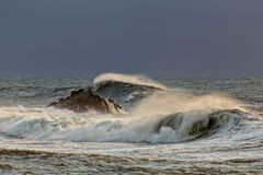 Big wave Stock Photo