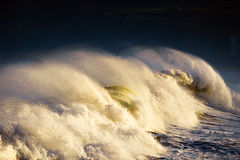 Big wave breaking Royalty Free Stock Photo