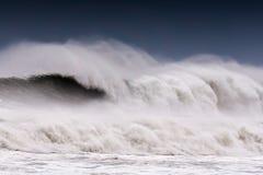 Big wave breaking Stock Photos