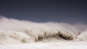 Big wave breaking Royalty Free Stock Image