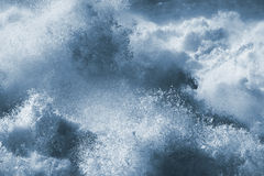 Big wave closeup Royalty Free Stock Photo