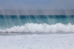 Big Wave Closing out Royalty Free Stock Photography