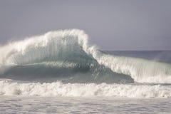 Big wave crashing Stock Photo