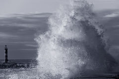 Big wave Royalty Free Stock Photos