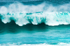 Big wave of Indian ocean Royalty Free Stock Image