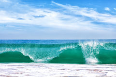 Big wave in ocean Royalty Free Stock Photo