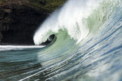 Big Wave, Piha Royalty Free Stock Photos